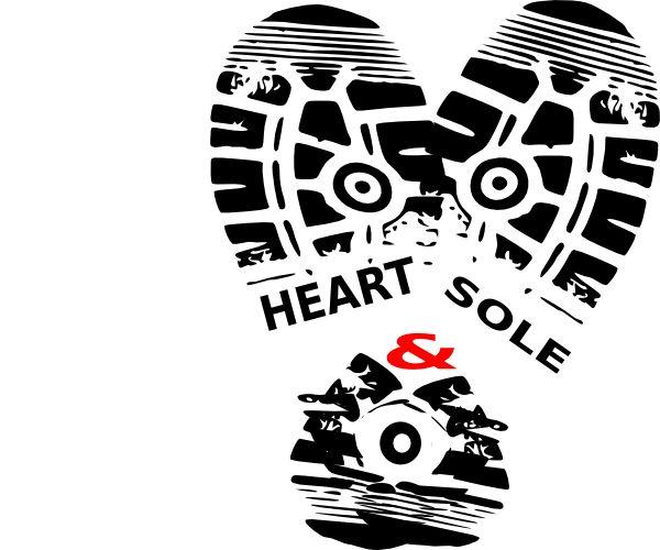 Track shoe running shoe sole clip art heart sole shoe9 clip art vector