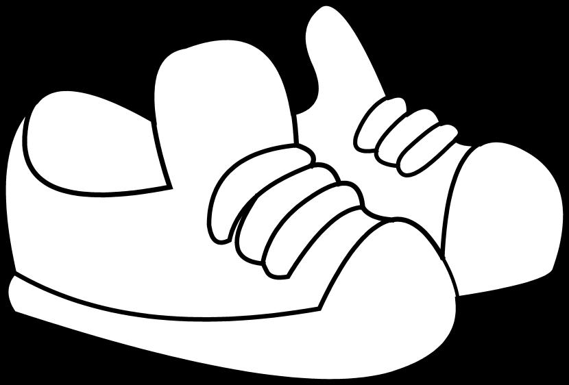 Track shoe shoe clipart