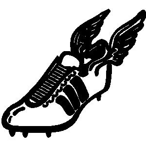 Track shoe track emblem clip art danasoki top