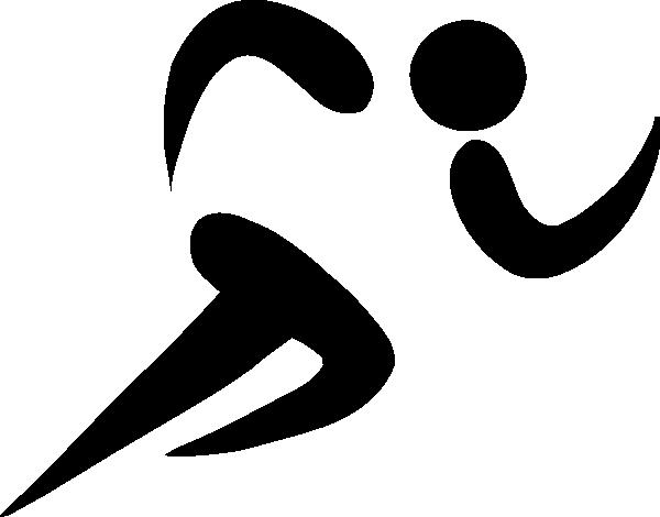 Track shoe track running symbol danasoka top clipart