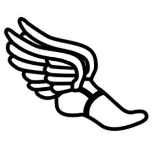 Track shoe wingedfoot free images at clker vector clip art