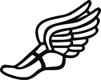 Track shoe with wings 7 clip art