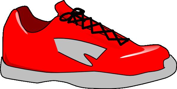 Track shoes clip art clipart image 2