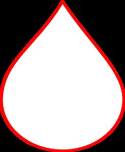Blood drop red blood clip art at clker vector clip art
