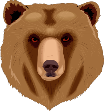 Free clipart grizzly bear