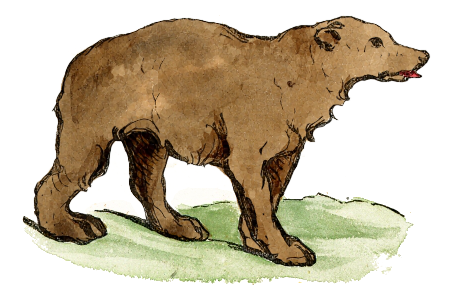 Free grizzly bear clipart clip art image of