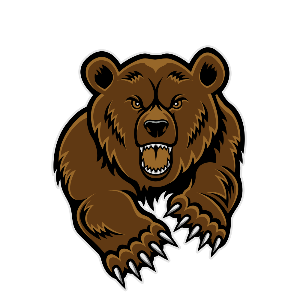Grizzly bear clipart free clipart images
