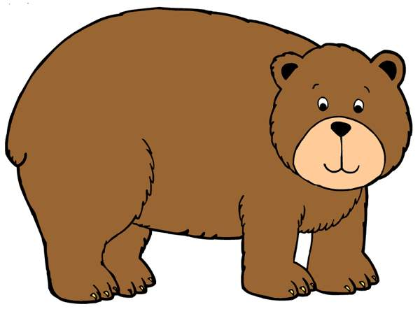 Bear growling. Grizzly clipart free images