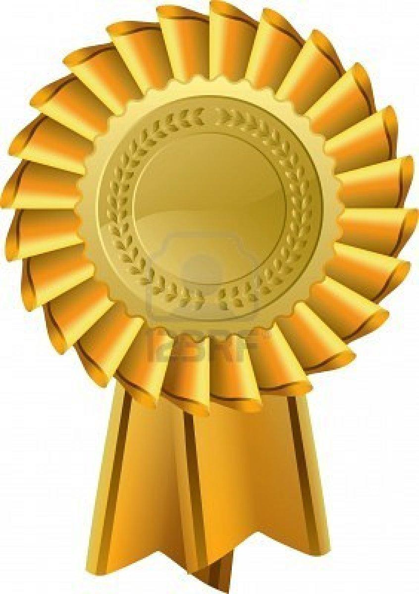 Gold award clipart danasojdb top 3