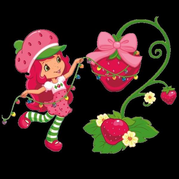Strawberry shortcake christmas images strawberry shortcake clipart
