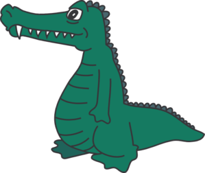 Alligator crocodile silhouette clip art free clipart images