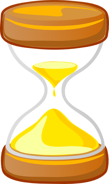 Animated hourglass clipart