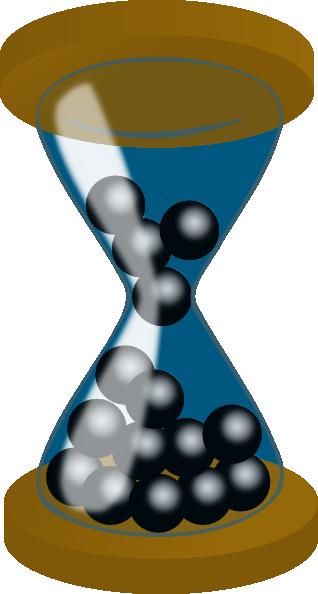 Hourglass clip art free vector 4vector