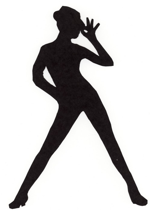 Jazz dancer clipart silhouette free clipart images 6