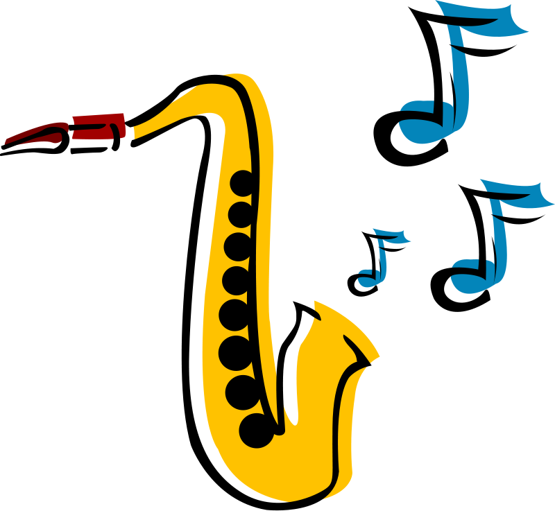 Jazz music clip art for kids free clipart images