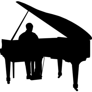 Jazz piano clipart free clipart images 2 clipartix