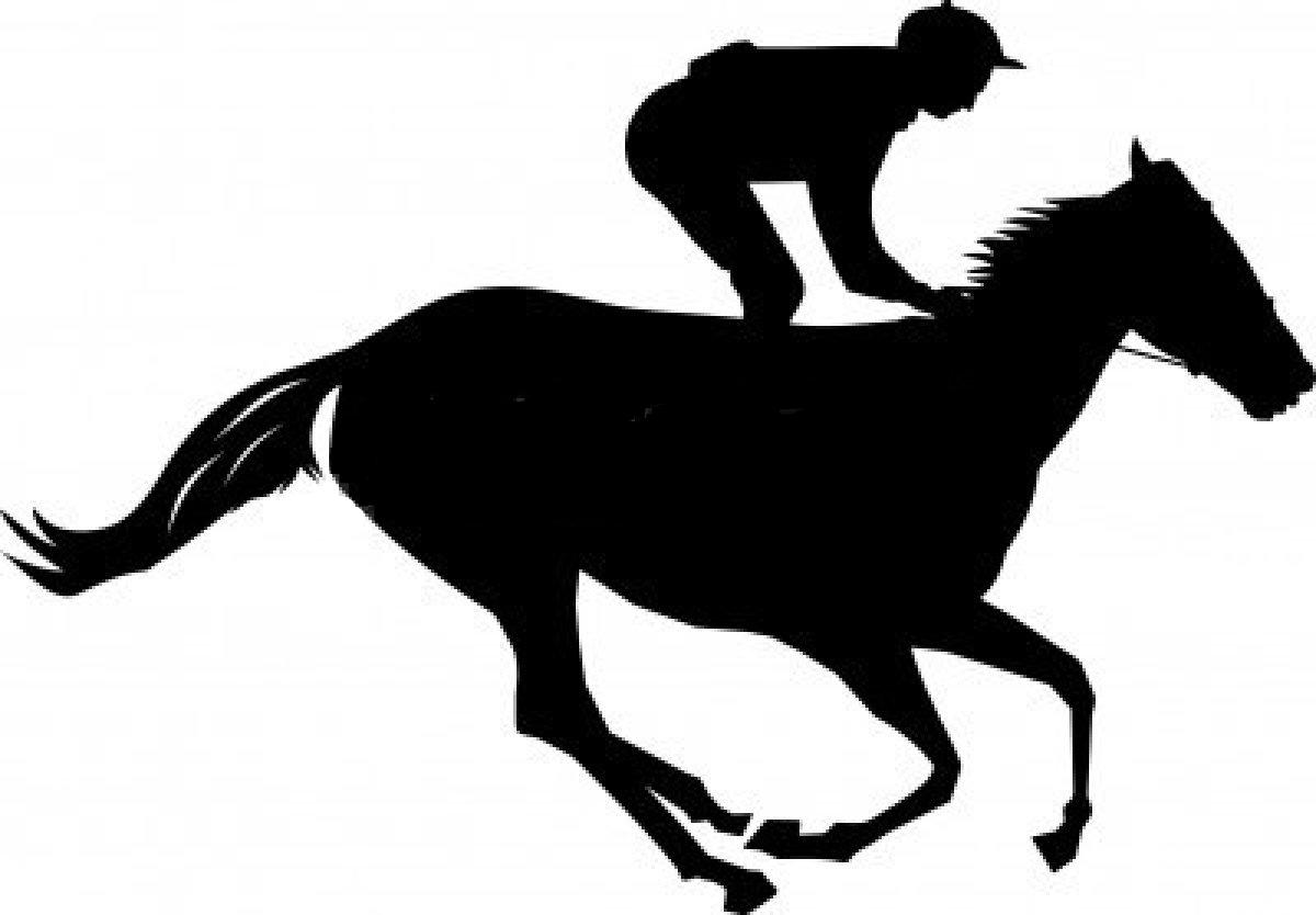 Horse racing clip art images illustrations photos