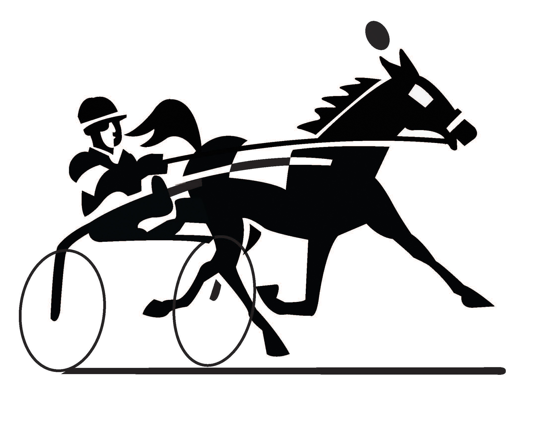 Horse racing racing clip art free image 3