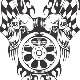 Racing clipart symbols clip art