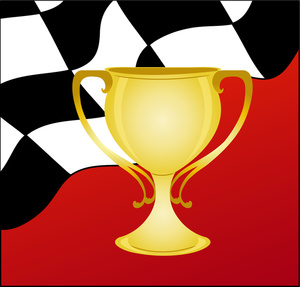 Trophy clipart imageauto racing trophy gold winner auto racing