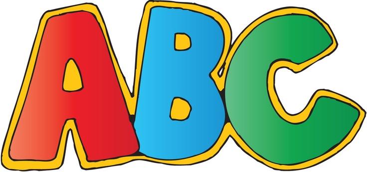 Alphabet abc clip art iip
