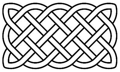Black celtic cross clip art free clipart images