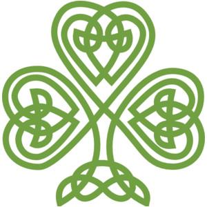 Celtic shamrock clipart clipart