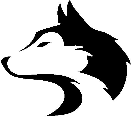 Husky logo clipart
