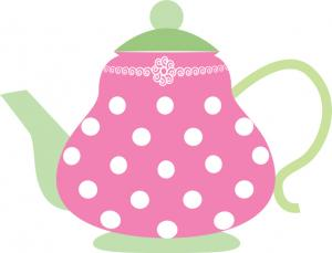 Free teapot clipart