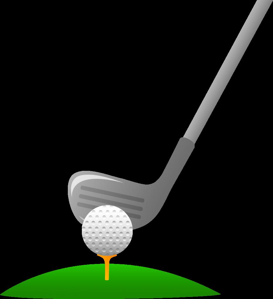 Golfer golf clipart 7