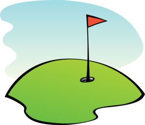Golfer mini golf clip art free clipart images