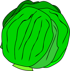 Lettuce clipart black and white free clipart images