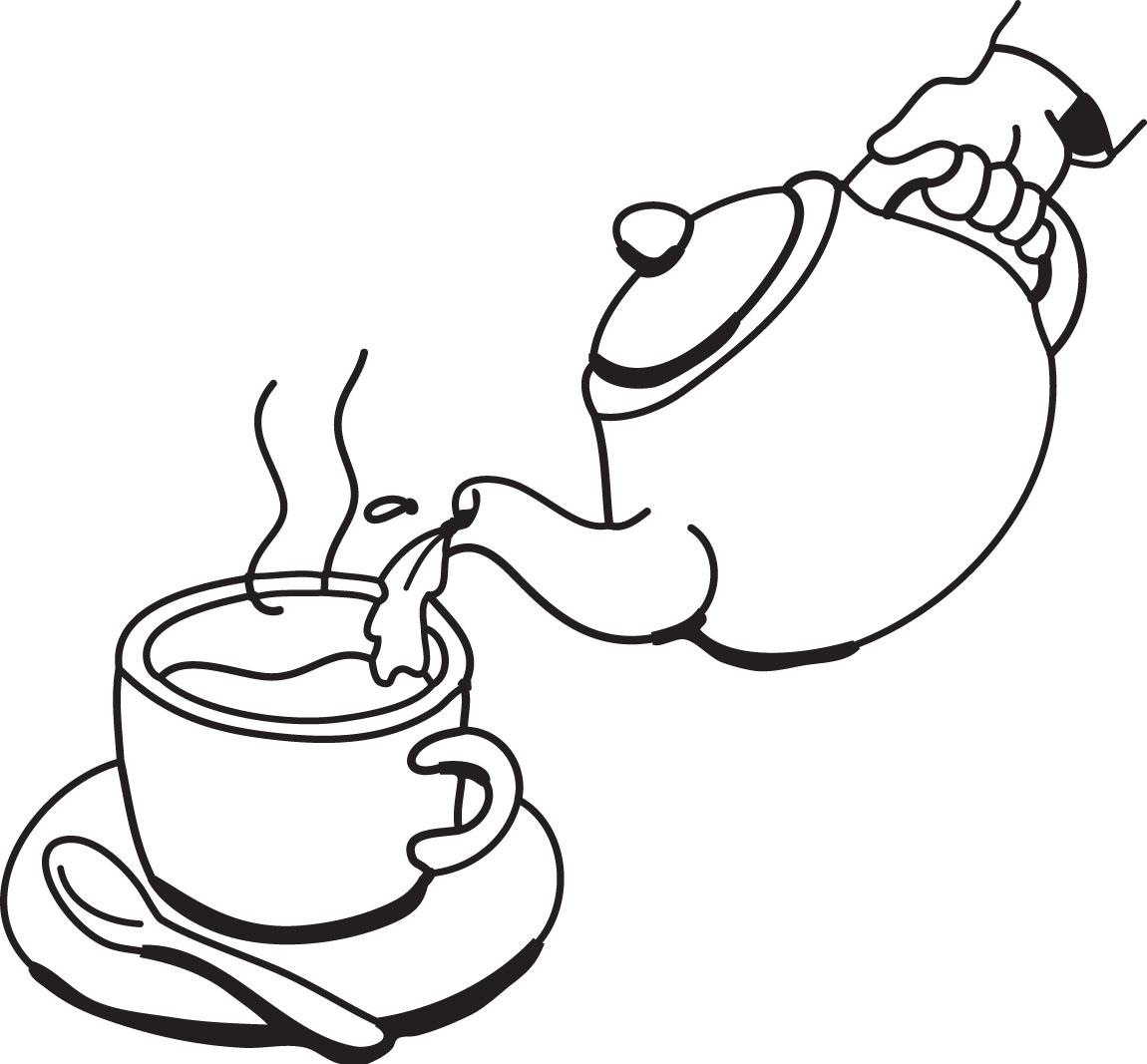Teapot clip art clipart 2