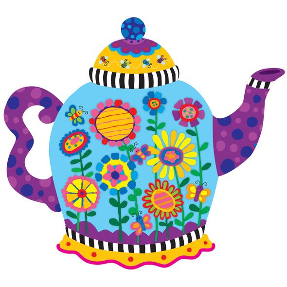 Teapot clip art co