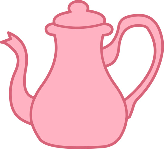 Teapot clip art outline free clipart images