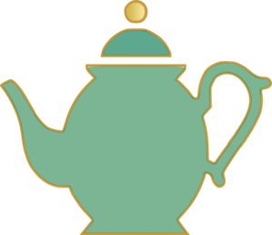 Teapot clipart black and white free clipart images 4