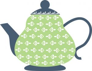 Teapot clipart black and white free clipart images 5