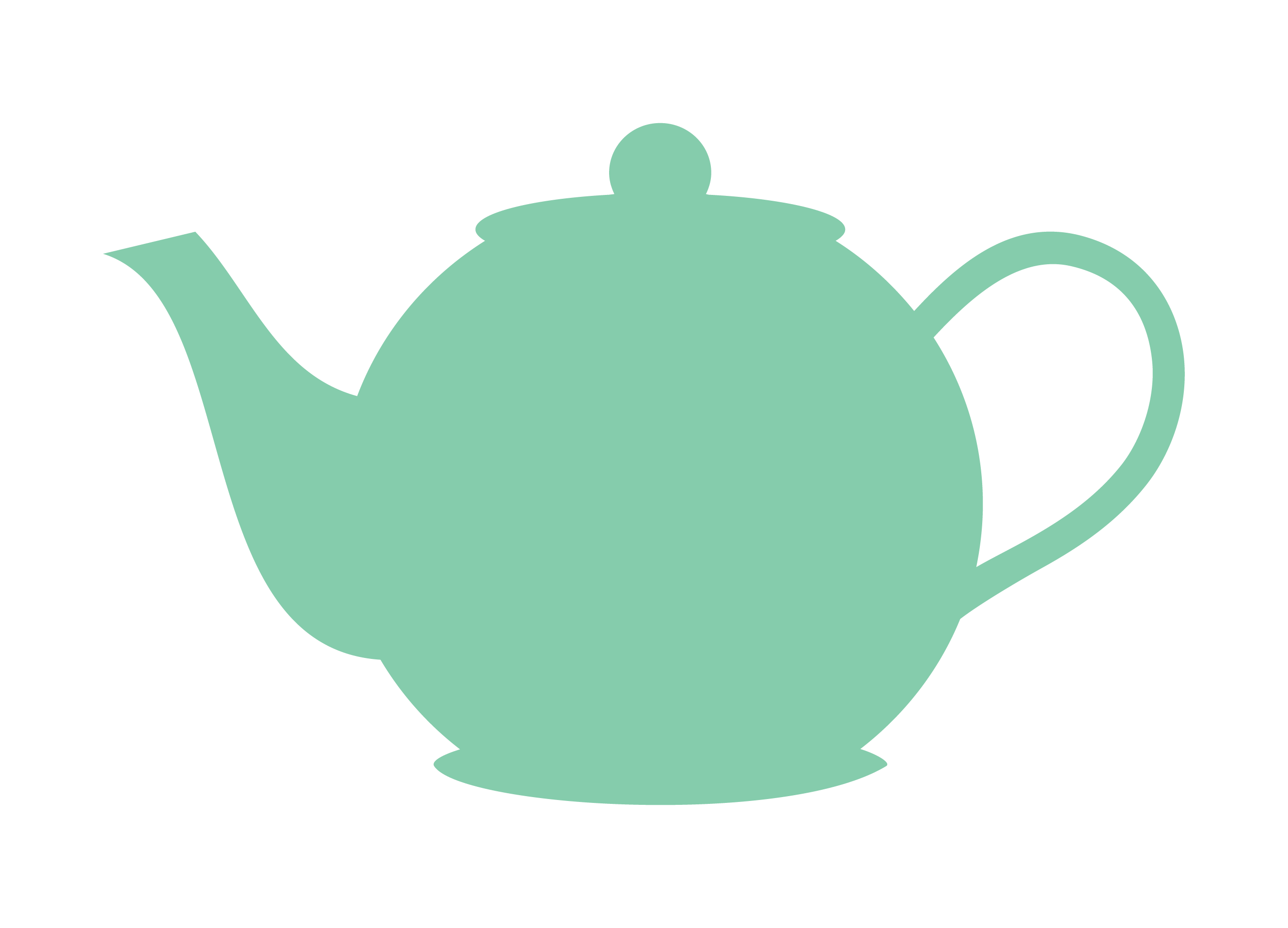 Teapot clipart black and white free clipart images