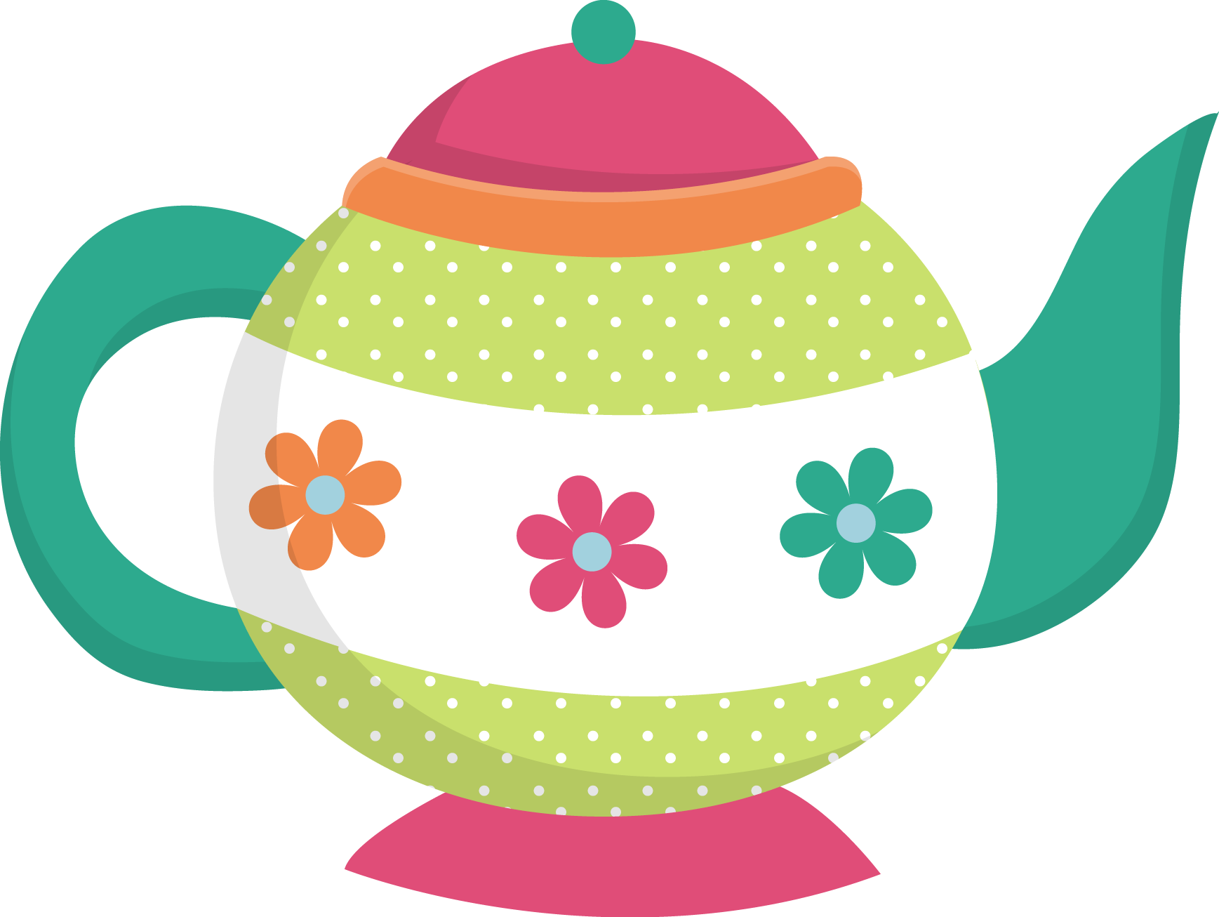 Teapot clipart free clipart images