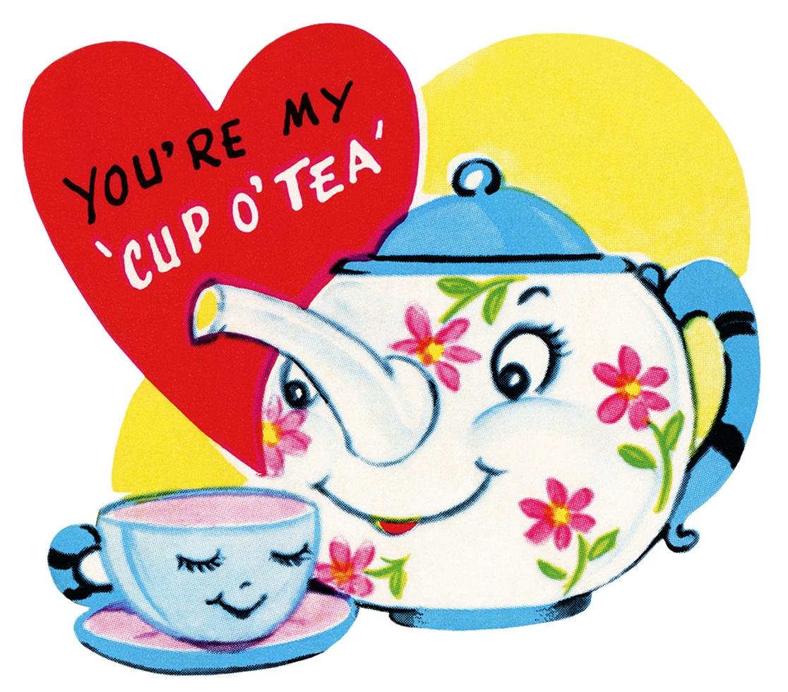 Teapot fancy teacup clip art free clipart images 2