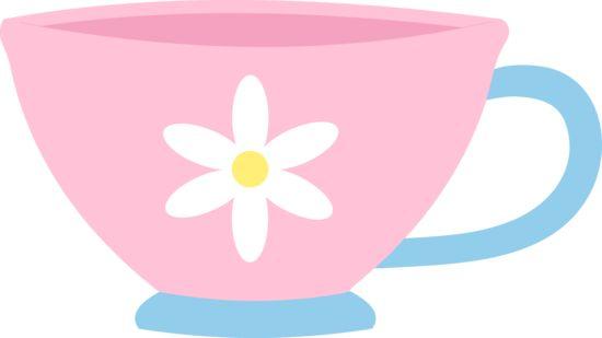 Teapot teacup tea cup clip art clipart image