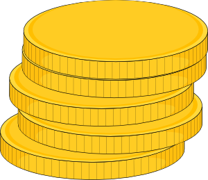 Coin clip art free free clipart images
