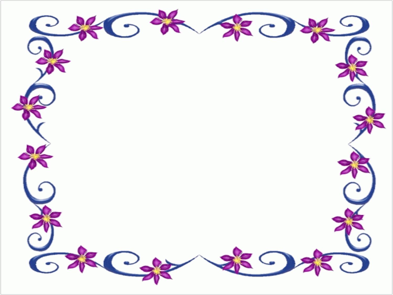 Flower border clip art free school clipart co
