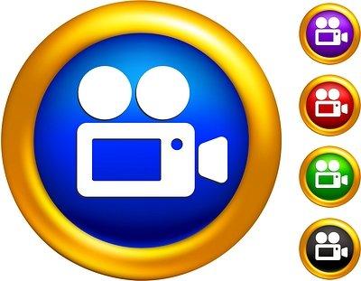 Video clip icon clipart