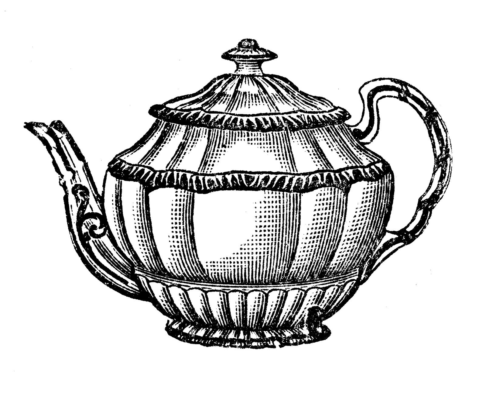 Vintage teacup clipart free clipart images