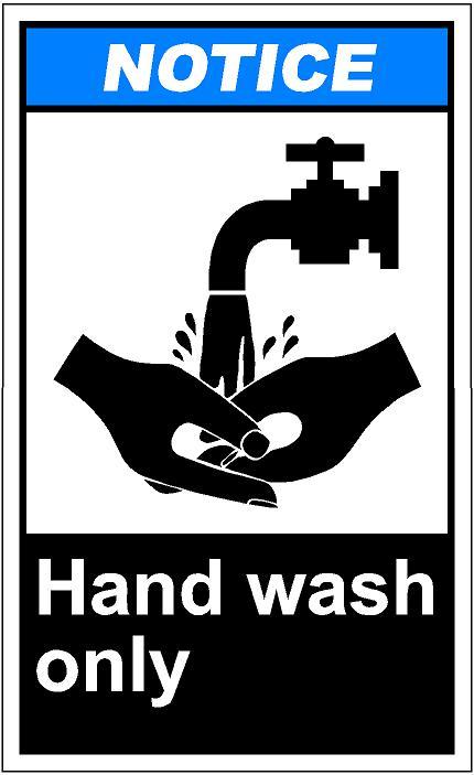 Hand washing clip art image #36586