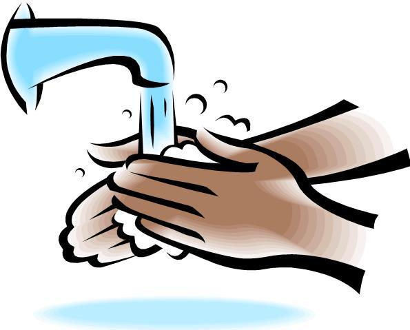 Hand washing clipart