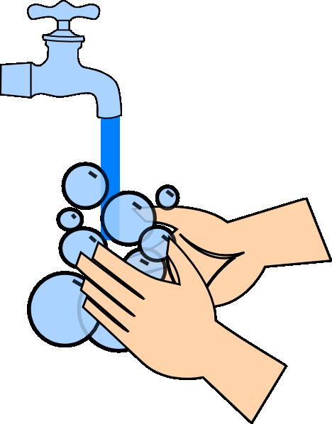 Hand washing washing hands clip art at clker vector clip art
