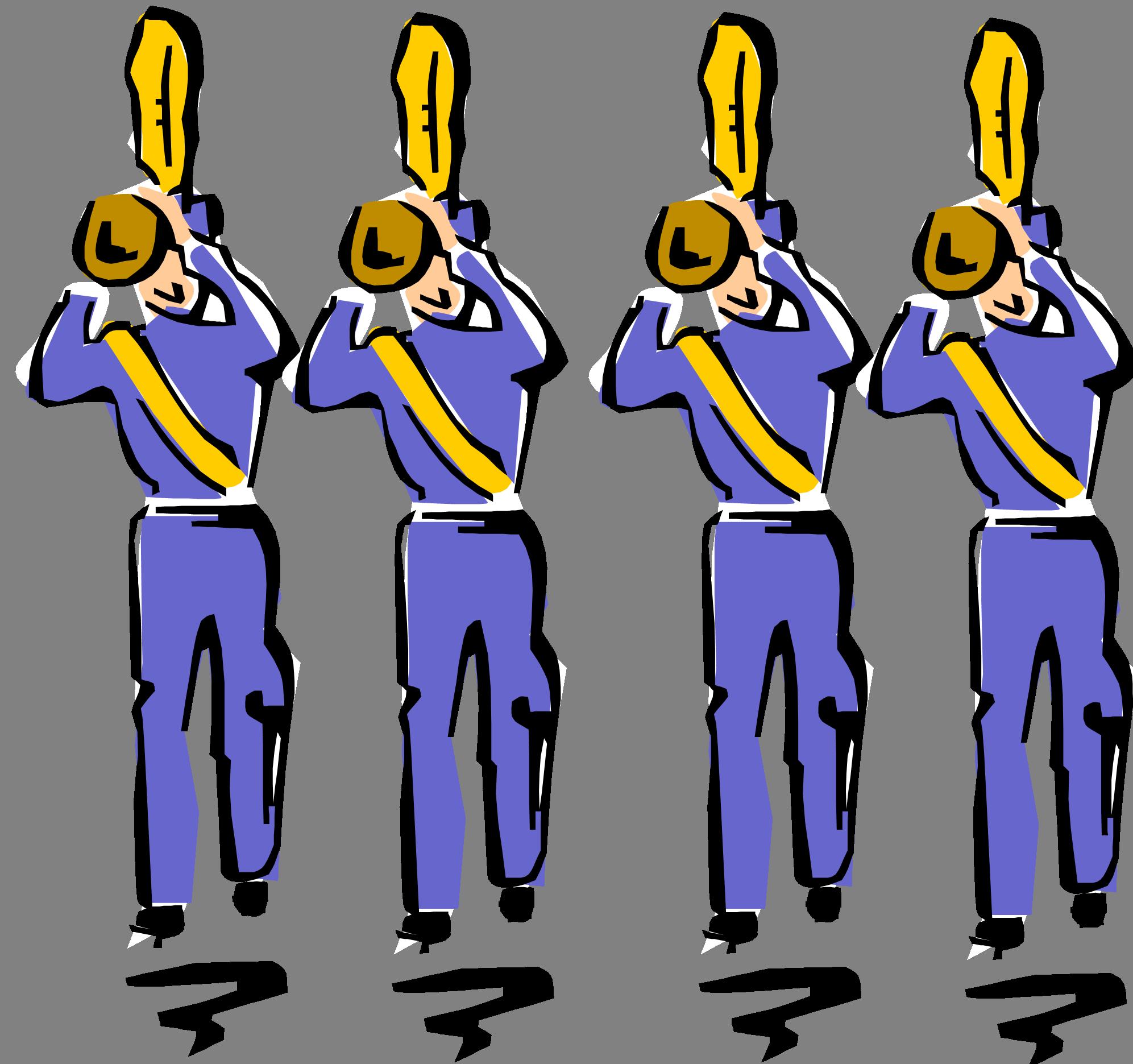 School band clip art clipart 4