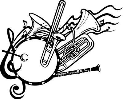 School band clip art clipart